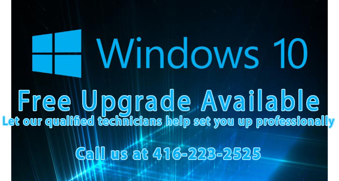 Windows 10 Pro Upgrade Downgrade Repair Toronto