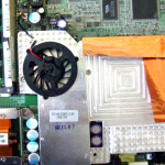 Laptop heatsink and clogged fan repair and services
